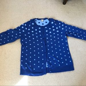 Talbots Light Wright Button Up Sweater